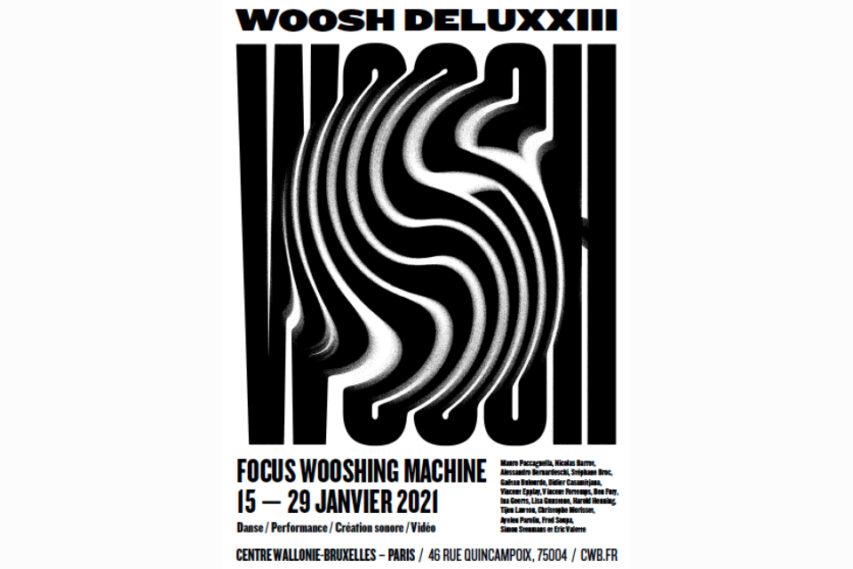 WOOSH DELUXXIII | Focus autour de la Compagnie, Centre Wallonie-Bruxelles | Paris, janvier 2021